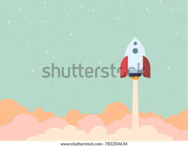 startup concept rocket blast off space stock vector royalty free 783204634 https www shutterstock com image vector startup concept rocket blast off space 783204634