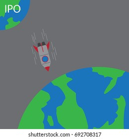 Startup rocket failure to IPO - fall back