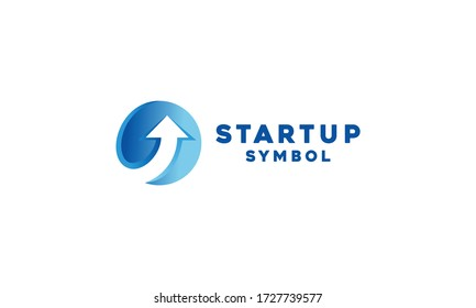 Startup Technology Logo Vector Design Template. digital Icon. development Symbol For Company and business.