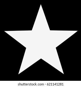 star-white-vector