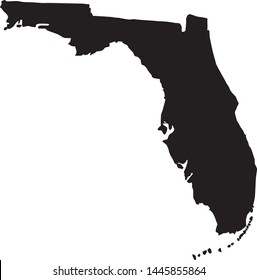 state of florida map in united states