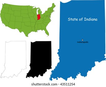 State of Indiana, USA