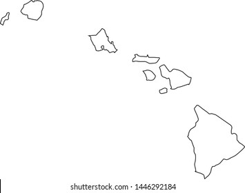 Hawaii Outlines Photos - 17,151 hawaii Stock Image Results ...