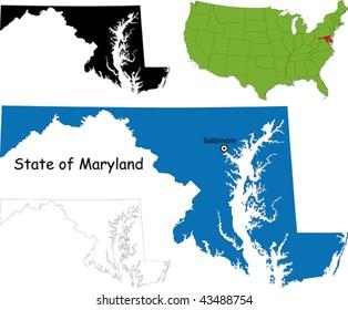 State of Maryland, USA