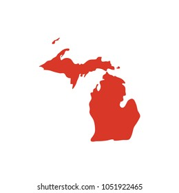 Michigan Map Of State.Michigan Map Images Stock Photos Vectors Shutterstock