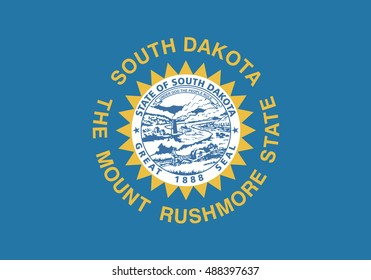 State of South Dakota Flag