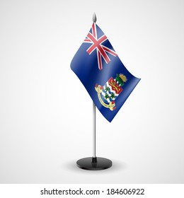 State table flag of Cayman Islands. National symbol
