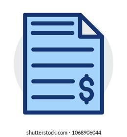 statement file  bill