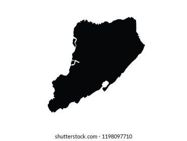 Staten Island New York CIty borough city shape