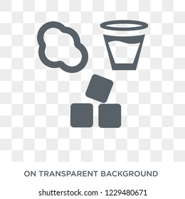 States of Matter icon. Trendy flat vector States of Matter icon on transparent background from Cleaning collection.