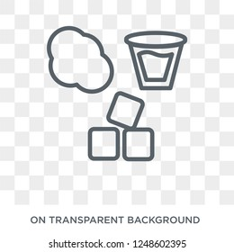 States of Matter icon. Trendy flat vector States of Matter icon on transparent background from Cleaning collection. High quality filled States of Matter symbol use for web and mobile