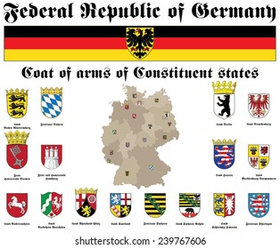 states symbols of Federal Republic of Germany