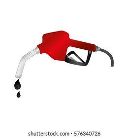 station service fuel isolated icon