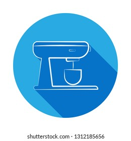 stationary mixer icon. Signs and symbols can be used for web, logo, mobile app, UI, UX