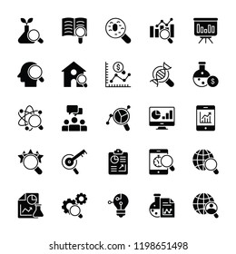 Statistical Analysis Icons Pack