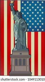 Statue of Liberty. New York and American symbol