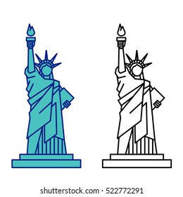 Statue Liberty Vector Stock Vector Royalty Free 522772291 The statue of liberty (liberty enlightening the world; statue liberty vector stock vector