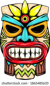 The statue from the small tiki island and for the mask inspiration