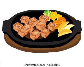 Steak of dice