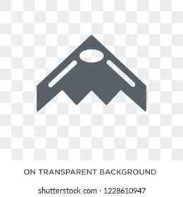 stealth icon. stealth design concept from Army collection. Simple element vector illustration on transparent background.