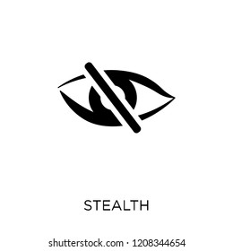 stealth icon. stealth symbol design from Army collection.