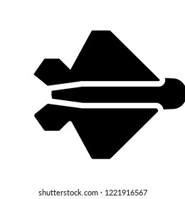 stealth icon. Trendy stealth logo concept on white background from army and war collection. Suitable for use on web apps, mobile apps and print media.