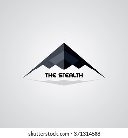 stealth logo template