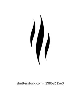 steam icon symbol vector. on white background