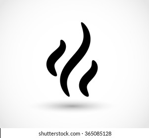 Steam icon vector