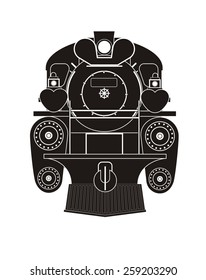 steam locomotive illustration