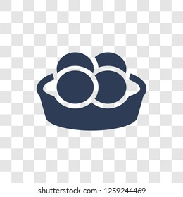 Steamed Bread icon. Trendy Steamed Bread logo concept on transparent background from Culture collection