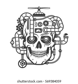 Steampunk Drawing Images Stock Photos Vectors Shutterstock