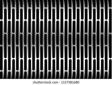 steel background ellipsis hole