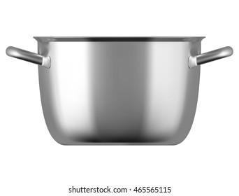 Steel cooking pot