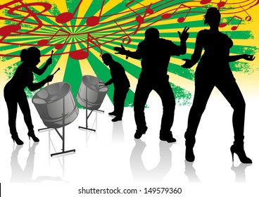 Steel Drum Calypso Street Party