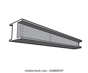 Steel Iron I beam girder