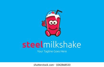 steel milkshake logo