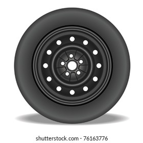 Steel Rim with Tire