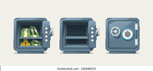 steel safe set
