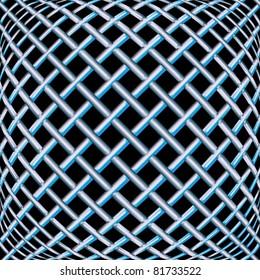 steel seamless texture, abstract pattern; vector art illustration