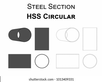 Steel Section HSS Circular