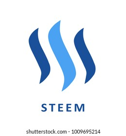 Steem Coin Cryptocurrency Sign
