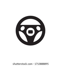 Steer Car Icon Vector Illustration