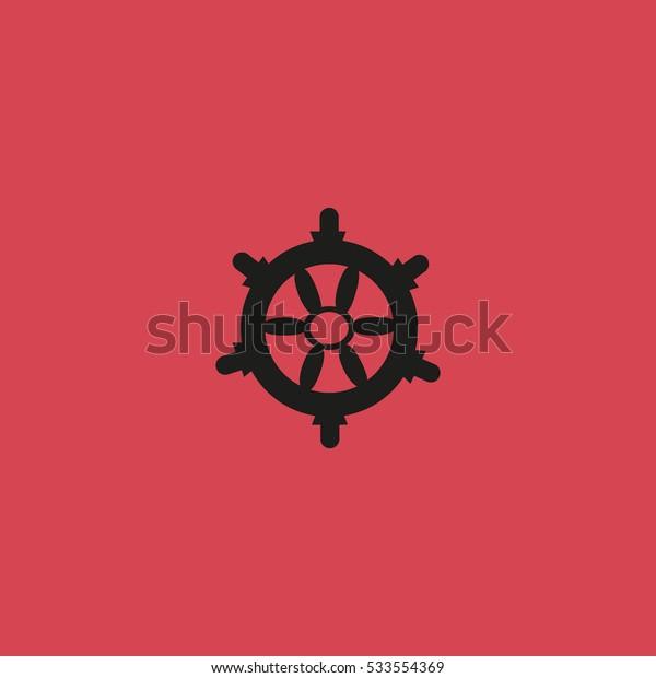steering wheel. wheel. icon