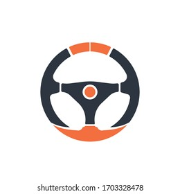 steering wheel logo images stock photos vectors shutterstock https www shutterstock com image vector steering wheel vector image logo 1703328478