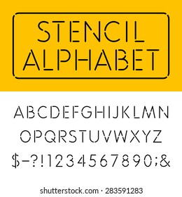 Stencil Letters Images, Stock Photos & Vectors | Shutterstock