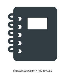 Steno Pad Vector Icon
