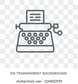 Stenographer icon. Trendy flat vector Stenographer icon on transparent background from law and justice collection. High quality filled Stenographer symbol use for web and mobile