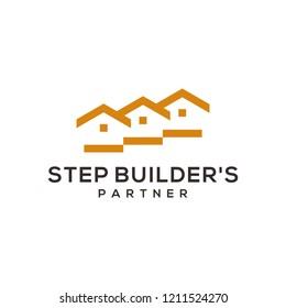 Step builders logo designs