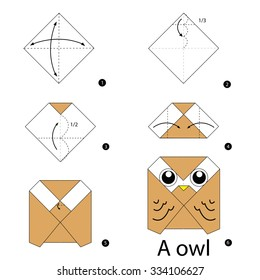 step by step instructions how to make origami Owl.